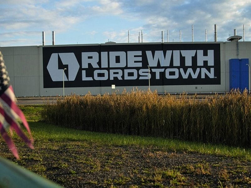 Check's in the mail, Lordstown Motors says